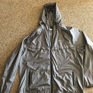 "Nike ""SOUL"" cycle rain jacket"
